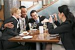 Businesspeople in Restaurant    Stock Photo - Premium Rights-Managed, Artist: Jerzyworks, Code: 700-01223513