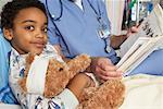 Doctor and Child in Hospital    Stock Photo - Premium Rights-Managed, Artist: Artiga Photo, Code: 700-01224085
