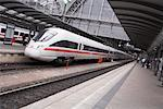 Train Station, Frankfurt, Germany    Stock Photo - Premium Rights-Managed, Artist: Mike Randolph, Code: 700-01224338