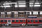 Frankfurt am Main Train Station, Germany    Stock Photo - Premium Rights-Managed, Artist: Mike Randolph, Code: 700-01224339