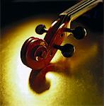 scroll (head of instrument) Stock Photo - Premium Royalty-Free, Artist: David Muir, Code: 621-01226173