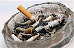 Full Ashtray Stock Photo - Premium Royalty-Freenull, Code: 621-01229676