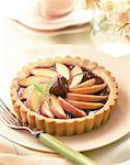 Cherry and Apple Tartlet Stock Photo - Premium Royalty-Free, Artist: Photocuisine, Code: 621-01230422