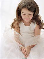 angelic little ballerina Stock Photo - Premium Royalty-Freenull, Code: 621-01231366