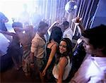People in Nightclub    Stock Photo - Premium Rights-Managed, Artist: Mark Leibowitz, Code: 700-01235967
