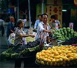 Marketplace, China    Stock Photo - Premium Rights-Managed, Artist: Sherman Hines, Code: 700-01235980