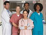 Portrait of Medical Professionals    Stock Photo - Premium Rights-Managed, Artist: Masterfile, Code: 700-01236075