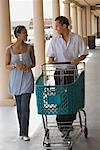 Couple Grocery Shopping    Stock Photo - Premium Rights-Managed, Artist: dk & dennie cody, Code: 700-01236515