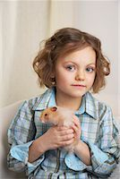 Portrait of Girl with Hamster    Stock Photo - Premium Rights-Managednull, Code: 700-01236570