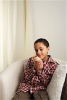 Boy Holding Hamster    Stock Photo - Premium Rights-Managednull, Code: 700-01236595