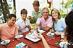 Family Birthday Party    Stock Photo - Premium Rights-Managed, Artist: Peter Barrett, Code: 700-01236650