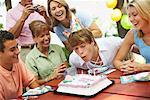 Family Birthday Party    Stock Photo - Premium Rights-Managed, Artist: Peter Barrett, Code: 700-01236653