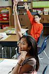 Children in Classroom    Stock Photo - Premium Rights-Managed, Artist: David Schmidt, Code: 700-01236802