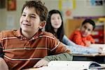 Children in Classroom    Stock Photo - Premium Rights-Managed, Artist: David Schmidt, Code: 700-01236804