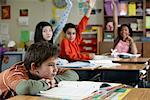 Children in Classroom    Stock Photo - Premium Rights-Managed, Artist: David Schmidt, Code: 700-01236805