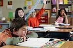 Children in Classroom    Stock Photo - Premium Rights-Managed, Artist: David Schmidt, Code: 700-01236806