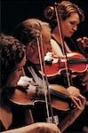 Violinists Stock Photo - Premium Royalty-Free, Artist: Blend Images, Code: 618-01245439