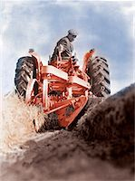 plow - Man Plowing Field Stock Photo - Premium Royalty-Freenull, Code: 618-01247728