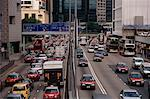 Traffic, Hong Kong, China    Stock Photo - Premium Rights-Managed, Artist: Brian Sytnyk, Code: 700-01248034