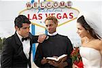 Wedding Ceremony, Las Vegas, Nevada, USA