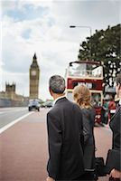 Businesspeople Commuting, London, England    Stock Photo - Premium Rights-Managednull, Code: 700-01248673