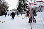 Children Playing Hockey    Stock Photo - Premium Royalty-Free, Artist: Wayne Eardley, Code: 600-01248852