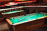 Pool Tables    Stock Photo - Premium Rights-Managed, Artist: Steve Prezant, Code: 700-01248894