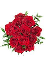 dozen roses - Bouquet of Roses    Stock Photo - Premium Rights-Managednull, Code: 700-01248926