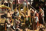 Close-up of the nativity scene Stock Photo - Premium Royalty-Free, Artist: Robert Harding Images, Code: 625-01264055