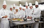 Chefs in Kitchen    Stock Photo - Premium Rights-Managed, Artist: Masterfile, Code: 700-01275210