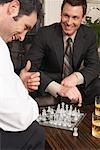 Businessmen Playing Chess    Stock Photo - Premium Royalty-Free, Artist: Masterfile, Code: 600-01275501