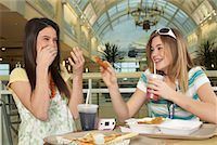 Teenagers at Mall    Stock Photo - Premium Royalty-Freenull, Code: 600-01275527