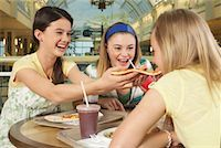 Teenagers at Mall    Stock Photo - Premium Royalty-Freenull, Code: 600-01275533