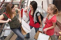 Teenagers Shopping    Stock Photo - Premium Royalty-Freenull, Code: 600-01275592