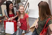 Teenagers Shopping    Stock Photo - Premium Royalty-Freenull, Code: 600-01275593