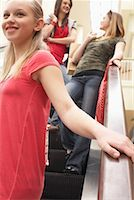 Teenagers Shopping    Stock Photo - Premium Royalty-Freenull, Code: 600-01275599