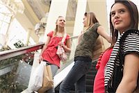 Teenagers Shopping    Stock Photo - Premium Royalty-Freenull, Code: 600-01275600