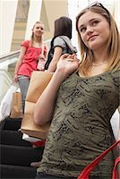 Teenagers Shopping    Stock Photo - Premium Royalty-Freenull, Code: 600-01275603
