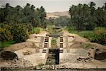 Aqueduct in the Nile River Valley, Egypt    Stock Photo - Premium Rights-Managed, Artist: Gail Mooney, Code: 700-01276230