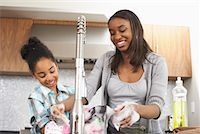 picture black girl washing dishes - Sisters Washing Dishes    Stock Photo - Premium Royalty-Freenull, Code: 600-01276417