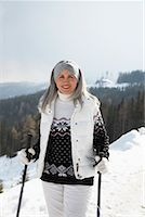 Portrait of Woman Outdoors    Stock Photo - Premium Rights-Managednull, Code: 700-01296185