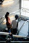 University students walking upstairs between classes Stock Photo - Premium Royalty-Free, Artist: Masterfile, Code: 638-01332521