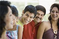 east indian mother and children - Close-up of extended Indian family Stock Photo - Premium Royalty-Freenull, Code: 638-01333652
