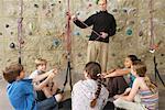 Children in Climbing Gym