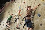 Children in Climbing Gym    Stock Photo - Premium Rights-Managed, Artist: Masterfile, Code: 700-01344817