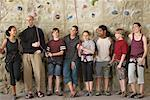 People in Climbing Gym    Stock Photo - Premium Rights-Managed, Artist: Masterfile, Code: 700-01344839