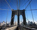 Brooklyn Bridge, New York, New York, USA    Stock Photo - Premium Rights-Managed, Artist: Damir Frkovic, Code: 700-01344847