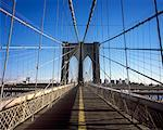 Brooklyn Bridge, New York, New York, USA    Stock Photo - Premium Rights-Managed, Artist: Damir Frkovic, Code: 700-01344848