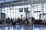 Boarding Gate, Toronto Pearson International Airport, Toronto, Ontario, Canada    Stock Photo - Premium Rights-Managed, Artist: Michael Mahovlich, Code: 700-01345218