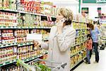 People Grocery Shopping    Stock Photo - Premium Rights-Managed, Artist: Noel Hendrickson, Code: 700-01345653
